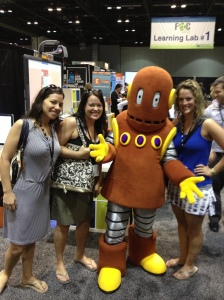 At the FETC Conference.