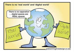 Real-world-digital-world