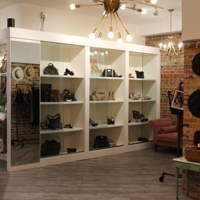 High-End Shoes and Purses
