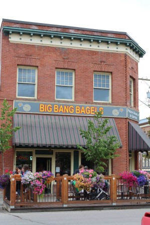 Big Bang Bagels, Fernie, BC